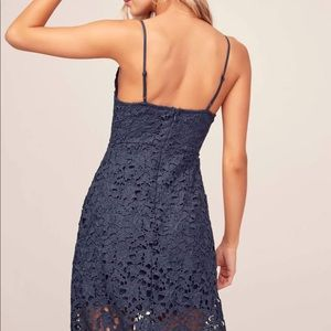 Astr Dresses - 🆕 Astr Lace Navy Dress